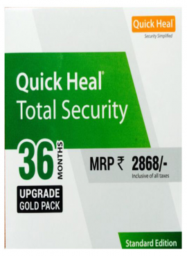 Renewal Quick Heal Total Security